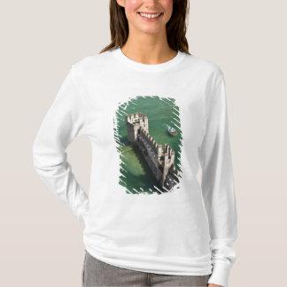 T-shirt Province de l'Italie, Brescia, Sirmione. Castello