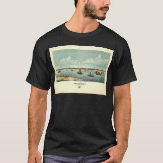 T-shirt Provincetown le Massachusetts en 1877