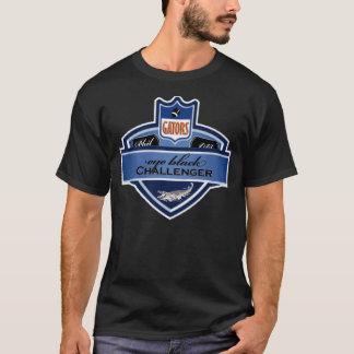 T-shirt Provocateur noir d'oeil - alligators