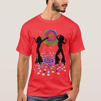 T-shirt psychédélique de disco