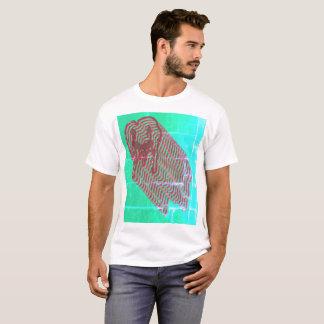 T-shirt psychédélique de motif