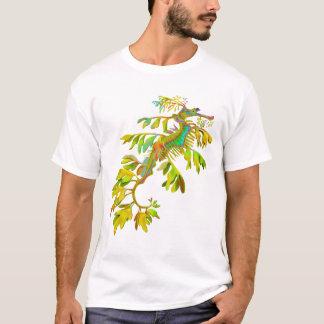 T-shirt psychédélique d'hippocampe de dragon de
