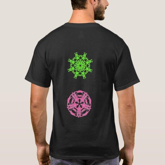 T-shirt psychédélique kaléidoscope fractal