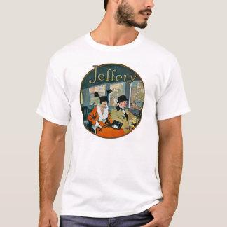 T-shirt Publicité d'automobiles de Jeffery - cru