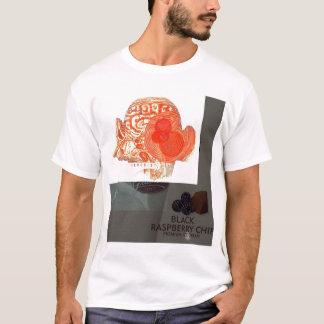 T-shirt Puce de framboise noire