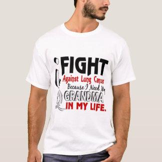 T-shirt Puisque j'ai besoin de mon cancer de poumon de