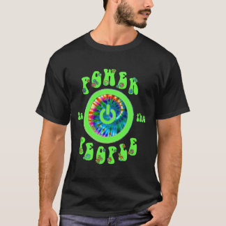 T-shirt Puissance à la chemise d'informaticiens