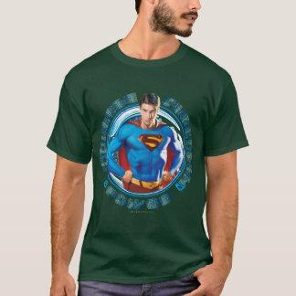 T-shirt Puissance de force de courage de Superman