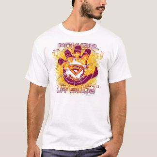 T-shirt Puissance de Superman de bon