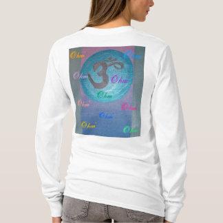 T-shirt Puissance de yoga d'Ohm