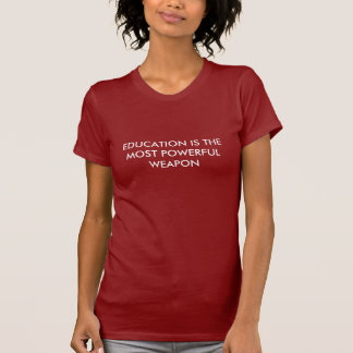 T-shirt Puissance d'éducation