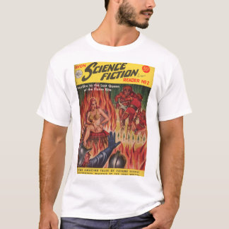 T-shirt _Pulp AR du lecteur 02 de la science-fiction