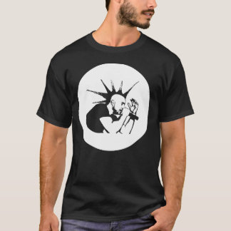 T-shirt Punk Piet Soli-Shirt noir