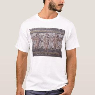 T-shirt Putti trois de danse accompagné d'un jeu
