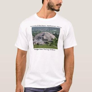 T-shirt Pyramide de la lune, Teotihuacan, Mexique