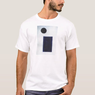 T-shirt Quadrilatère et le cercle par Kazimir Malevich
