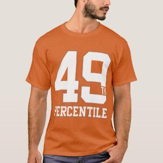 T-shirt quarante-neuvième Percentile