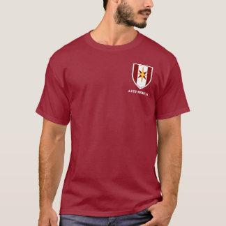 T-shirt quarante-quatrième Longue pièce en t de douille de