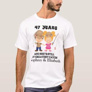 T-shirt quarante-septième Cadeau fait sur commande