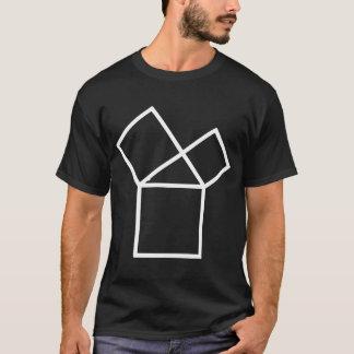 T-shirt quarante-septième Problème d'Euclid, foncé