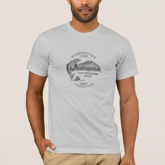 T-shirt Quart de l'état de Washington