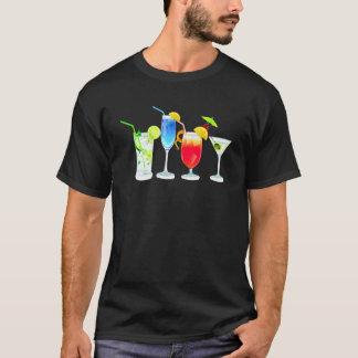 T-shirt Quatre cocktails
