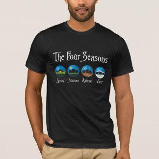 T-shirt Quatre saisons au cimetière