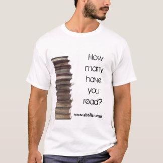 T-shirt Qu'avez-vous lu ?