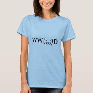 T-shirt Que Cthulhu ferait-il ? Le Babydoll des femmes
