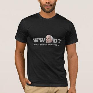 T-shirt Que McCain ferait-il ?