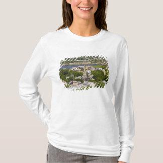 T-shirt Québec, Québec, Canada. Regard vers le bas sur