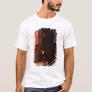 T-shirt Queest-ce que trace dans la neige ?