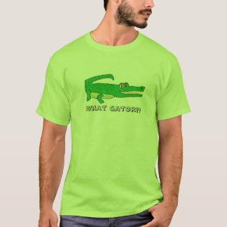 T-shirt Quel alligator ?