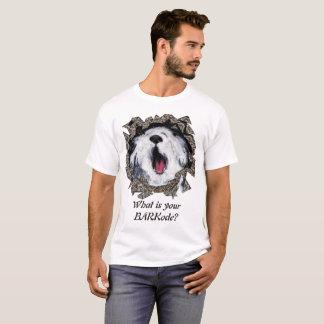 T-shirt Quel est votre BARKode ?