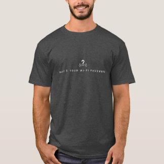 T-shirt Quel est votre mot de passe de Wi-Fi ? chemise