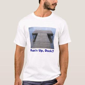 T-shirt Qu'est, dock ?