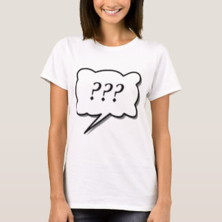 T-shirt question # 1