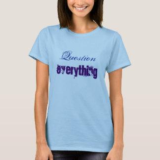 T-shirt Question tout