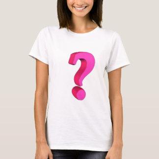 T-shirt Question vous-même