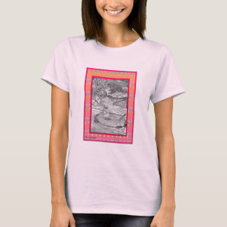 T-shirt Queue féerique