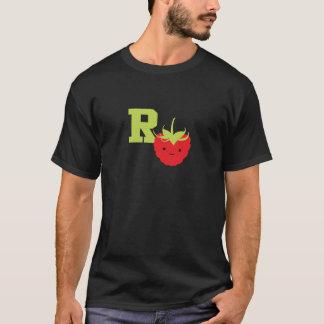 T-shirt R est pour la framboise
