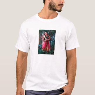 T-shirt Radha de peinture indien Krishna spirituel