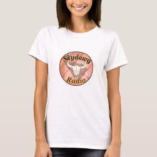 T-shirt Radio de Skydawg - nouveau logo pour les dames !