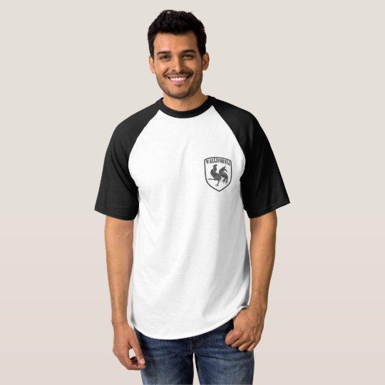 T-shirt Raglan Blason Wallifornia pocket