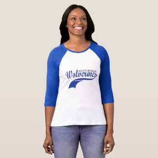 T-shirt Raglan de base-ball de Wolverines