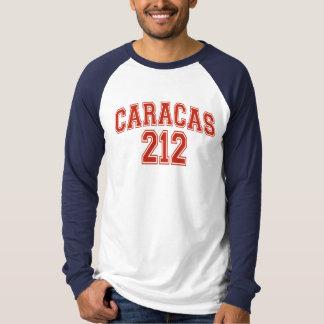 T-shirt Raglan de base de douille de Caracas 212 long