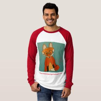 T-shirt Raglan de Fox de Betty (styles et couleurs