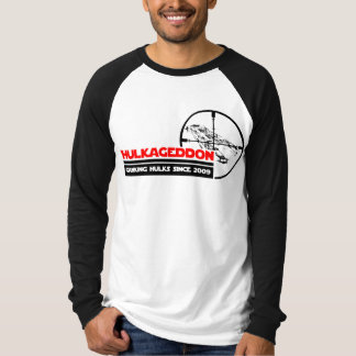 T-shirt Raglan de Hulkageddon