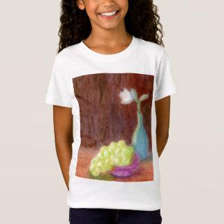 T-Shirt Raisins et de fleur toujours la vie, la chemise de