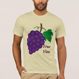 T-shirt Raisins, véritable beige de vigne